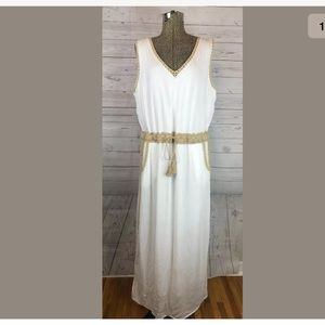 Chico's size 2.5 (large) sleeveless maxi dress